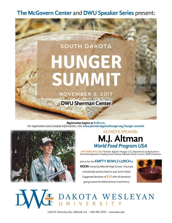 10u-20 (2017-18 DWU Hunger Summit Flier)