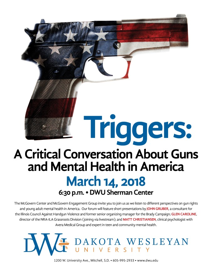 2018 Triggers-A Critical Conversation About Guns in America Poster) 2